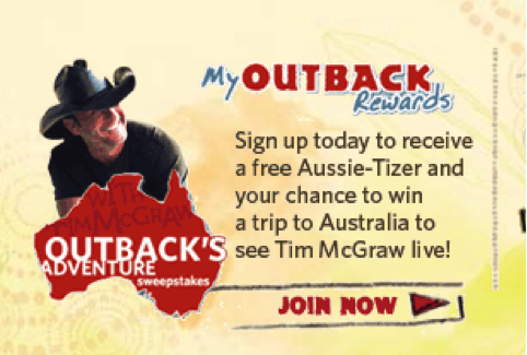 Outback Steakhouse Lead Magnet