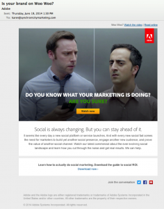 Adobe Email